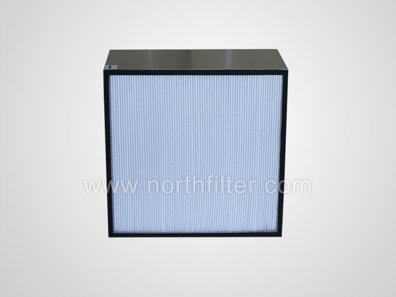 Standard and large capacity deep pleat hepa filter