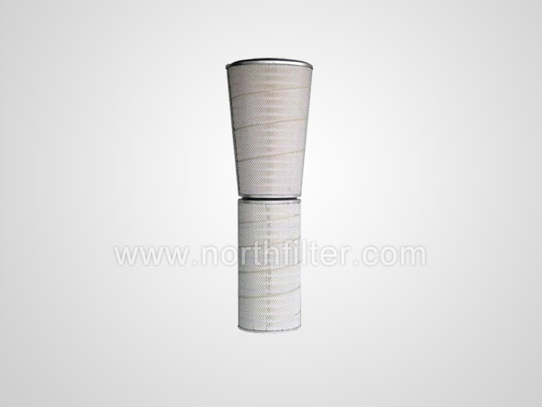Conical and cylindrical filter