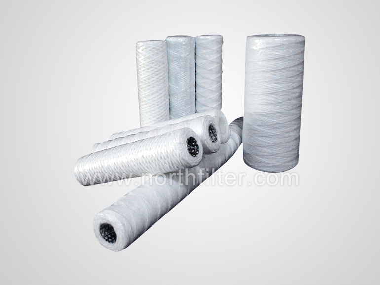 wire wound water filter cartridge
