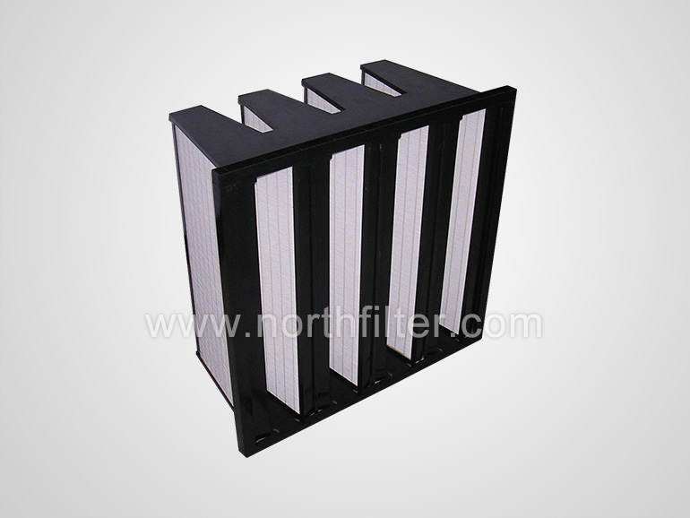V bank high capacity filter